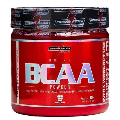 BCAA Powder 300G – Integral Médica – Laranja
