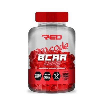 BCAA Pro Code 1.000 120 Cáps - Red Series