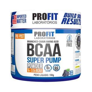 Bcaa Super Pump Powder 150g - Uva - Profit
