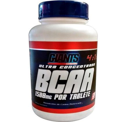 BCAA Ultra 4:1:1 1500Mg Por Tablete 120Tab Giants Nutrition