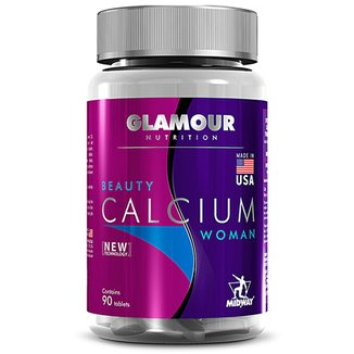 Beauty Calcium: Cálcio + Vitamina D Glamour 90 tabs