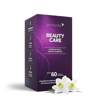 Beauty Care Hair Nail Skin Pele Unha e Cabelos 60 cáps Puravida