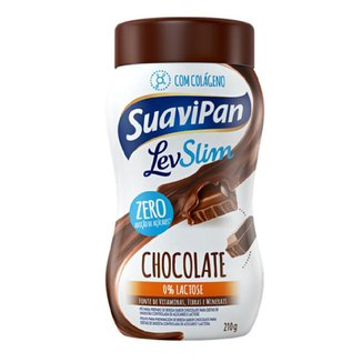 Bebida Em Pó Levslim De Chocolate 210g