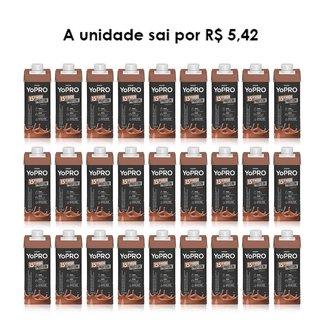 Bebida Láctea Yopro Danone High Protein 250ml - Caixa c/ 24 Unidades