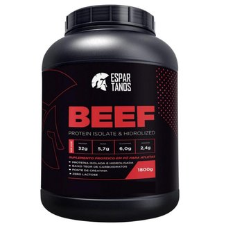 Beef Protein Isolate Hidrolized 1800g  Espartanos