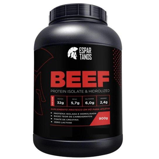 Beef Protein Isolate Hidrolized 900g  Espartanos -