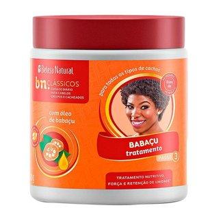 Beleza Natural Tratamento Babaçu Máscara Nutritiva 500g