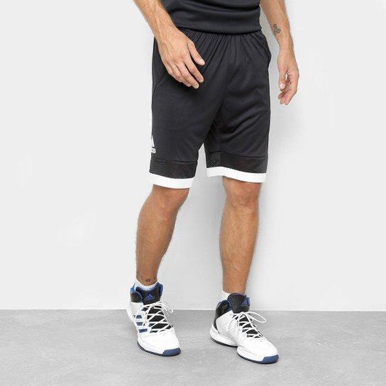 Bermuda Adidas Pro Bounce Masculina - Preto