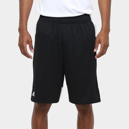 Bermuda Adidas Teamstock Masculina - Preto