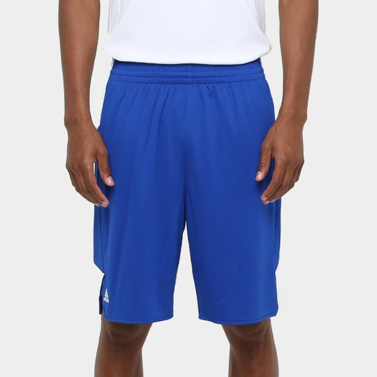Bermuda Adidas Teamstock Masculina - Azul Royal