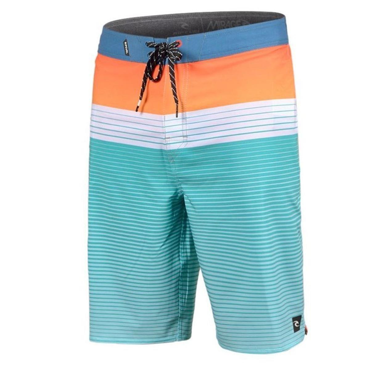 f396ebd5273b1 Bermuda Água Rip Curl Mirage Gabriel Medina Edge Masculina - Verde e  laranja - Compre Agora