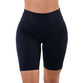Bermuda básico feminino fitness Selene