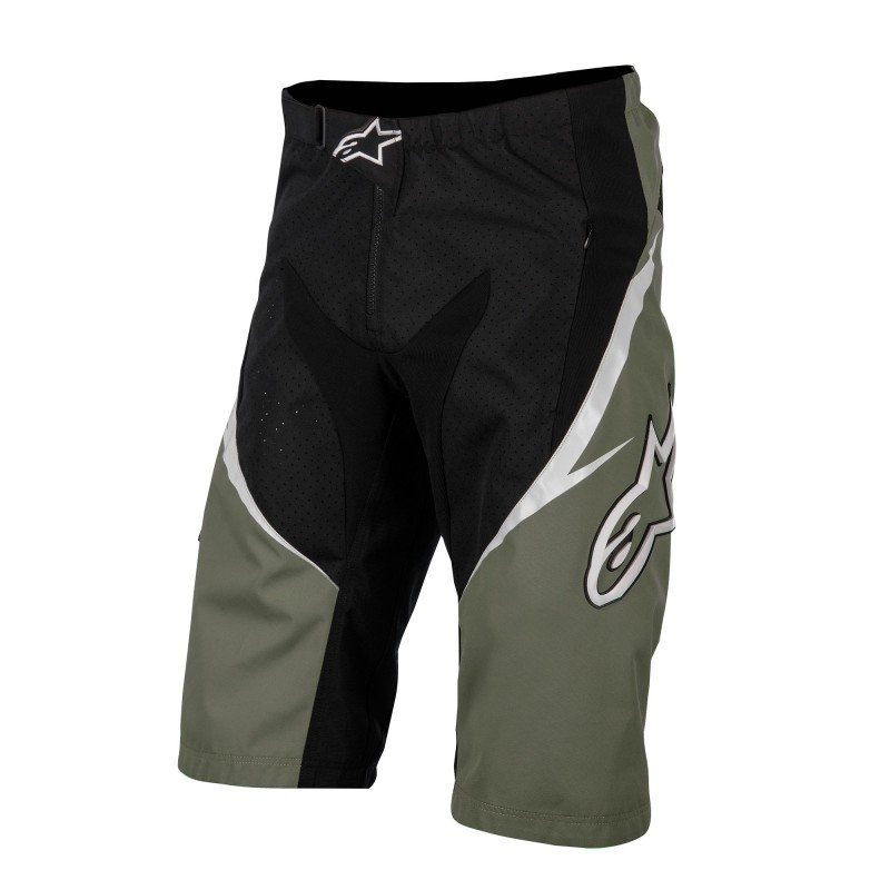 Bermuda Preto Bike Verde Bermuda Sight e Bike Alpinestars rx0rg