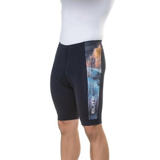 Bermuda Ciclismo Elite 129012 Plus Size Masculina