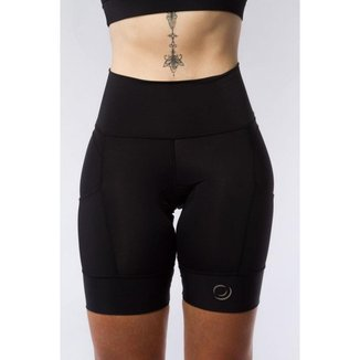 Bermuda Ciclismo Feminina Gel Proteção UV 50+ Compressão