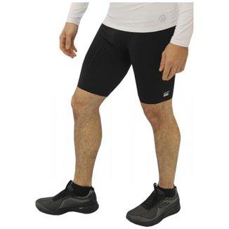 Bermuda Ciclismo Masculina Proteção Solar Térmica Conforto