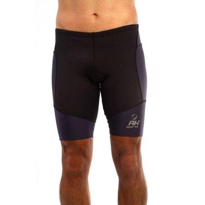Bermuda Corrida Masculina Tecido Liso Compressão Confortável
