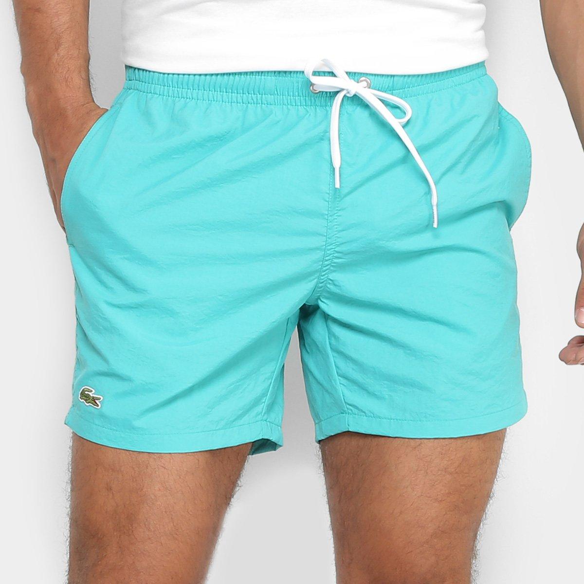 Bermuda dÁgua lacoste lisa masculina compre agora netshoes jpg 1200x1200 Bermudas  masculinas lacoste ed54a9fccc5