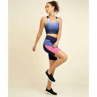 Bermuda Feminina Fitness Recorte Marisa - 10047953987