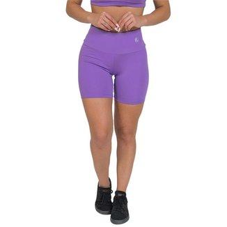 Bermuda Feminina Fitness Suplex Lisa Lilás