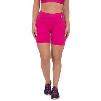 Bermuda Feminina Fitness Suplex Lisa Rosa