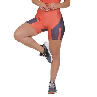 Bermuda Feminina Fitness Suplex Xtreme Laranja