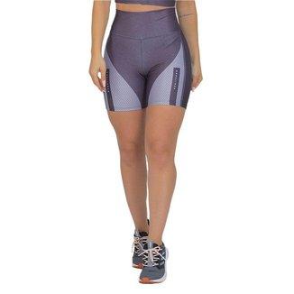 Bermuda Feminina Fitness Suplex Xtreme Prata