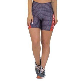 Bermuda Feminina Fitness Suplex Xtreme Vermelho