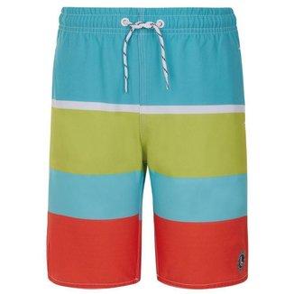 Bermuda Infantil Lupo Praia Estampada Beachwear Masculino