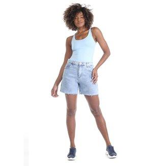 Bermuda jeans feminina - 268736 40