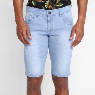 Bermuda Jeans Grifle Masculina
