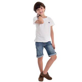 Bermuda Jeans Infantil MRX Masculina