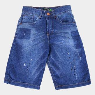 Bermuda Jeans Juvenil HD Reg CF Masculina
