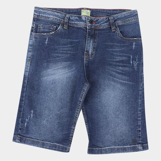 Bermuda Jeans Juvenil Nicoboco Curação Masculina