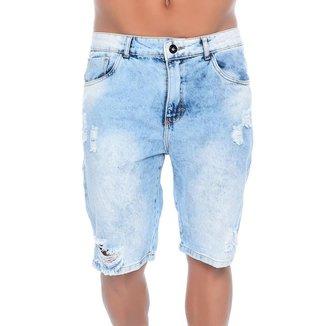 Bermuda Jeans  Light Blue Emporio Alex