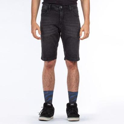 Bermuda Jeans Lost Denim Relaxed Black Lost