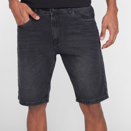 Bermuda Jeans Nicoboco Slim Fit Split Masculina