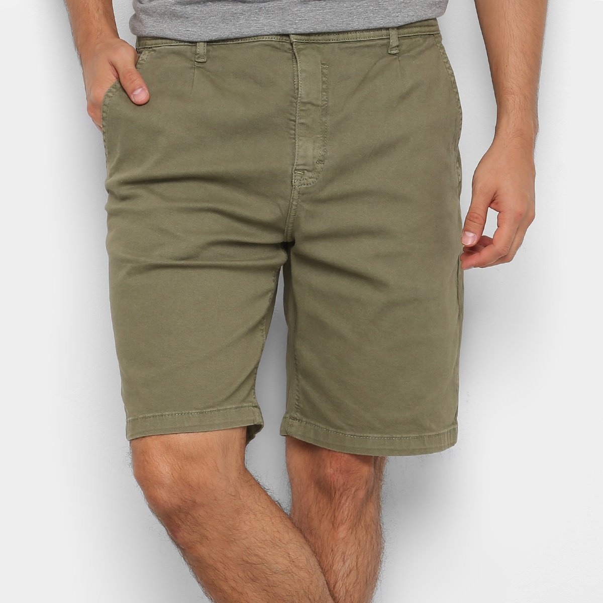 Bermuda MCD Sarja Jobless Tapered - Masculina - Verde Militar - Compre  Agora  9808f1aadd8