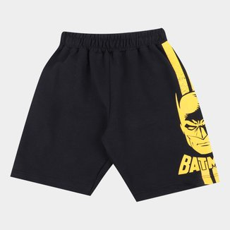 Bermuda Moletinho Fakini Batman Masculino