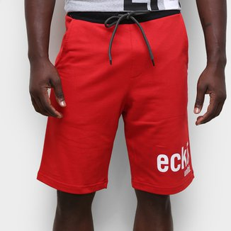 Bermuda Moletom Ecko Logo II Masculina