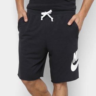 Bermuda Moletom Nike French Terry Alumni Masculina