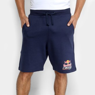 Bermuda Moletom Red Bull Racing II Masculina