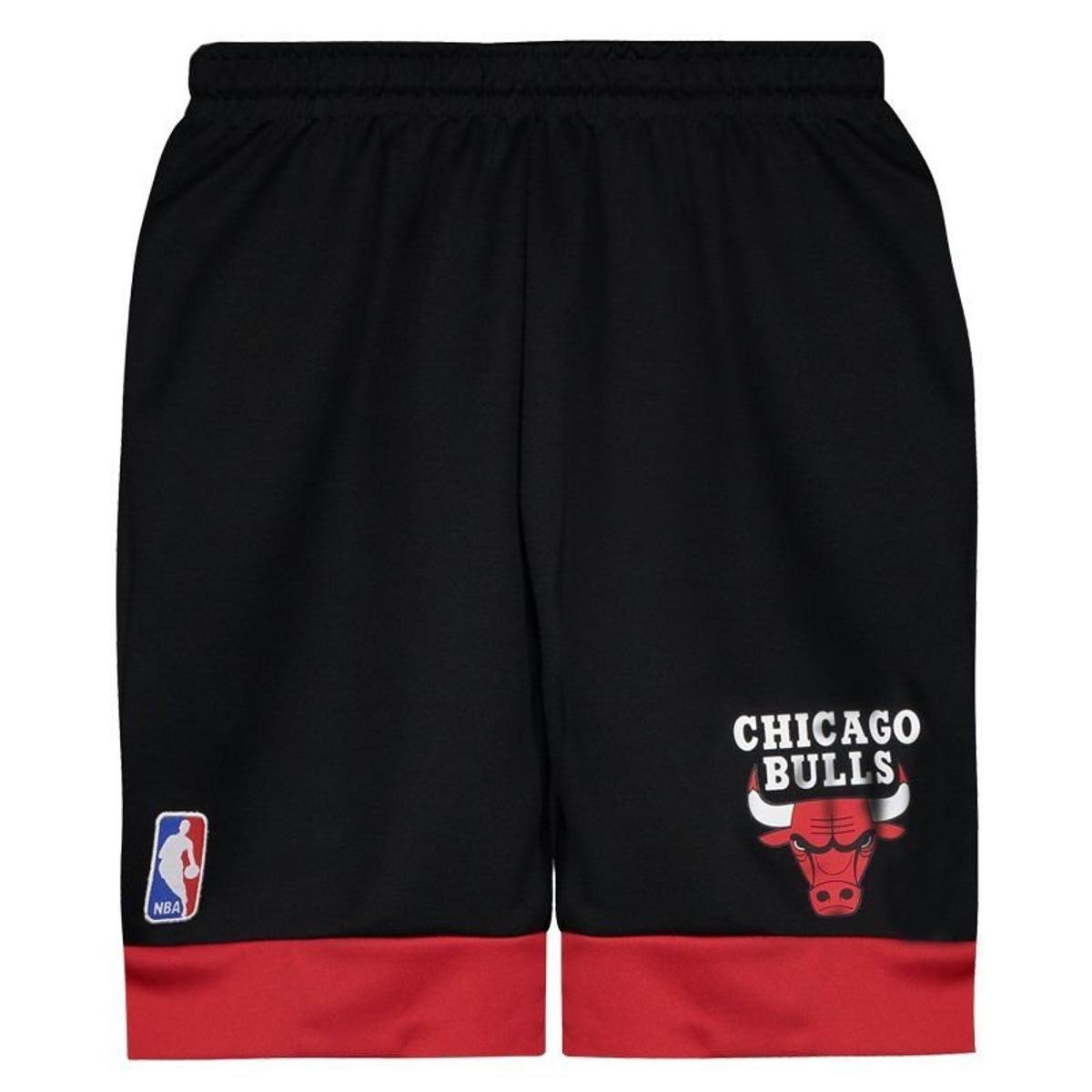 f766297093 Bermuda NBA Chicago Bulls Game Juvenil - Compre Agora