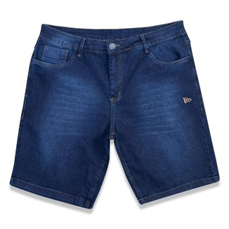 Bermuda New Era Denim Branded Masculina