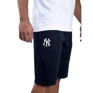 Bermuda New Era MLB New York Yankees Jersey Sport Stripes Masculina