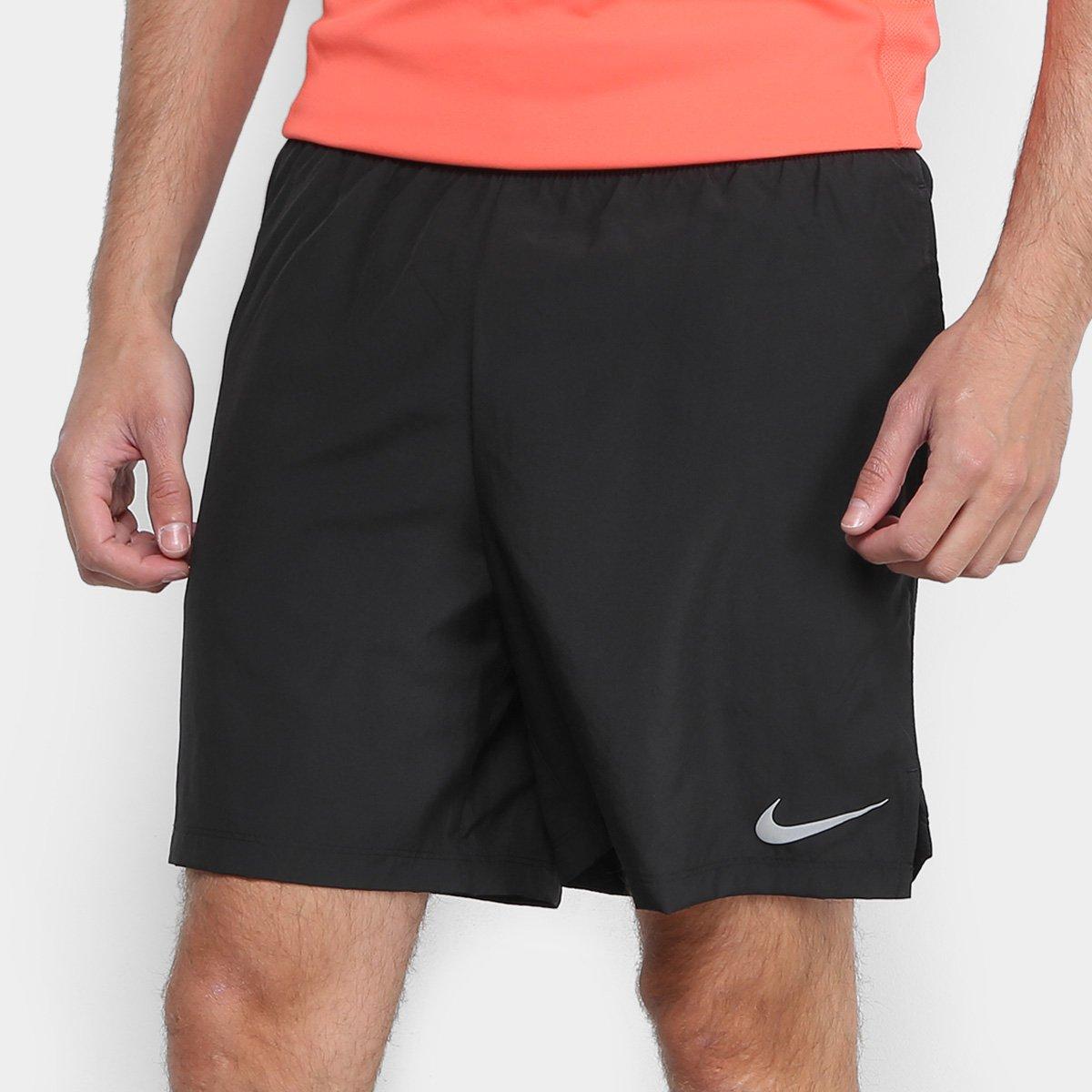 ed22c01598b87 Bermuda Nike Challenger BF 7 In Masculina - Preto - Compre Agora ...