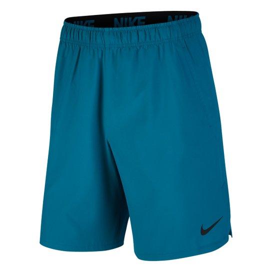 Bermuda Nike Flx Woven 2.0 Masculina - Verde água