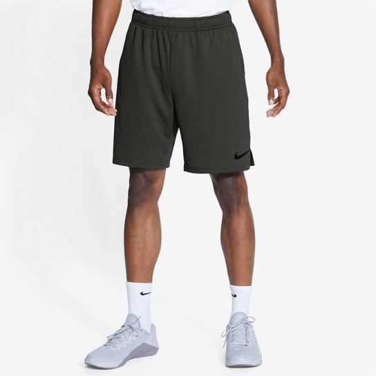 Bermuda Nike Monster Mesh 5.0 Masculina - Preto+verde