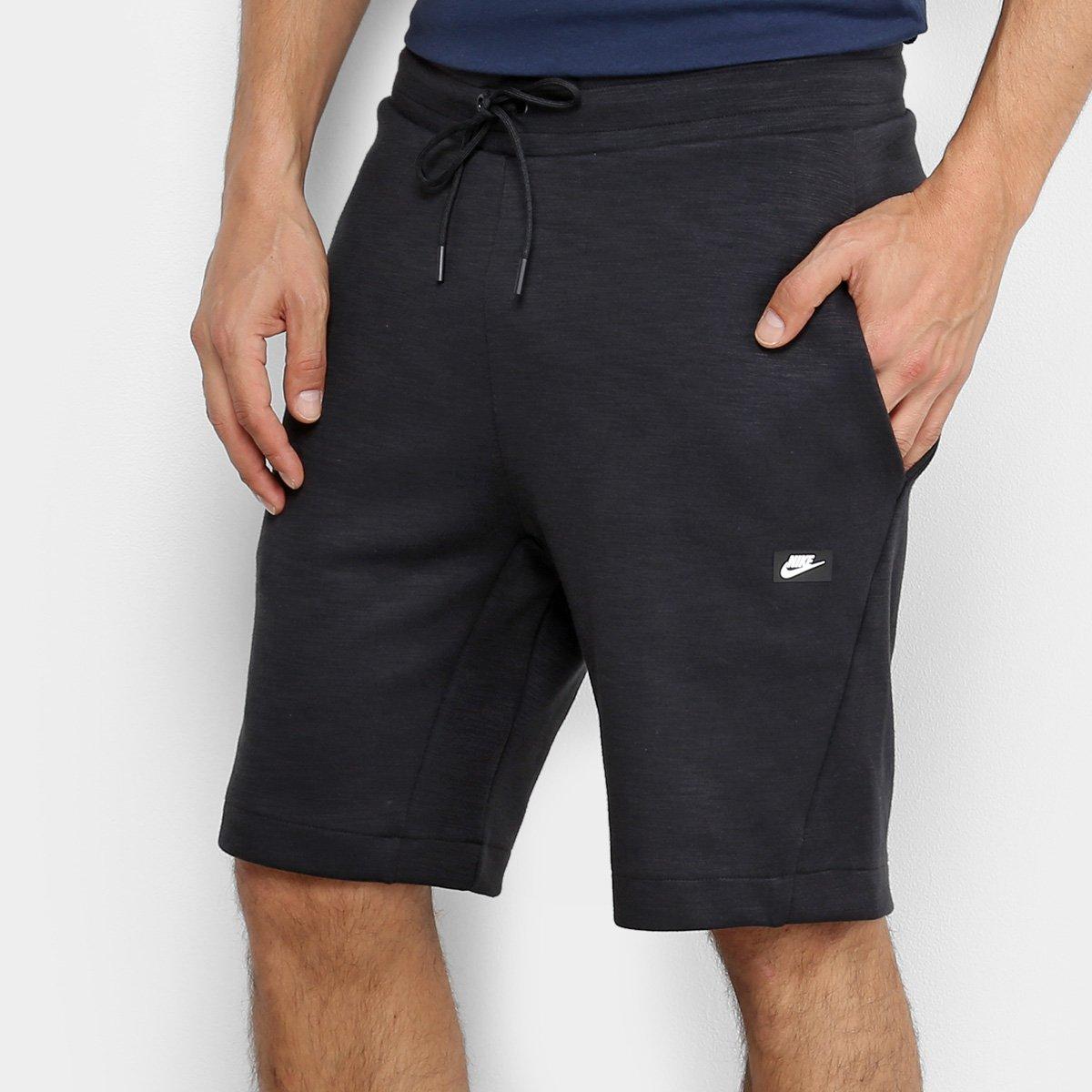 seleccione para genuino nuevas variedades venta caliente más nuevo Bermuda Nike Sportswear Optic Fleece Masculina | Netshoes