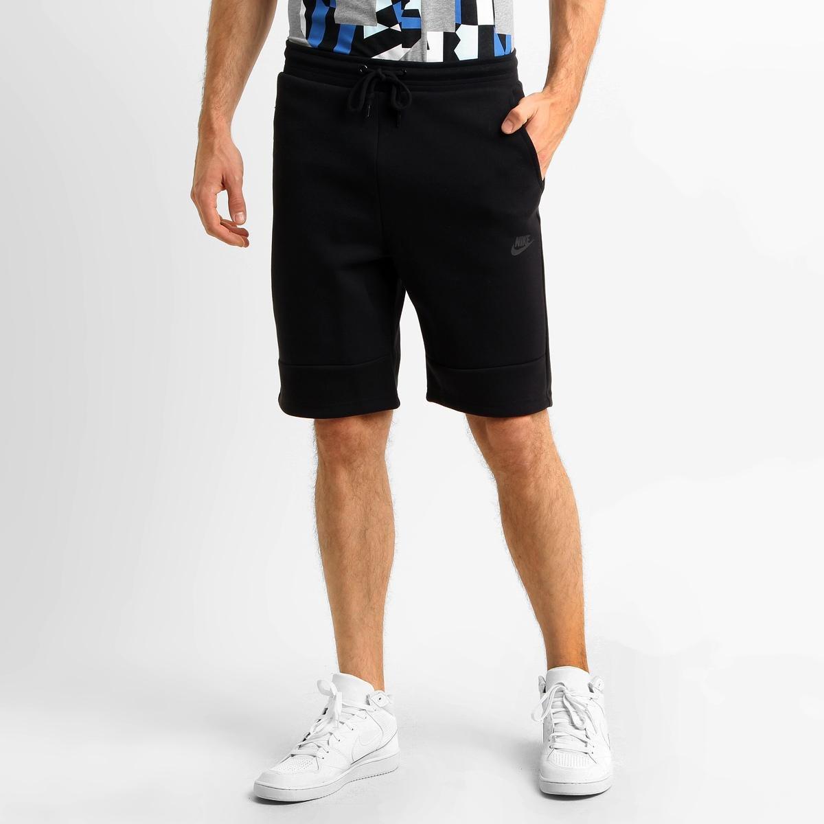 shorts nike tech fleece masculino